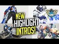 Overwatch - NEW Highlight Intros Revealed! Winston, Ana, Bastion and Soldier 76!