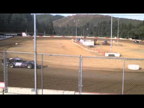 6-27-15 late model heat coos bay speedway