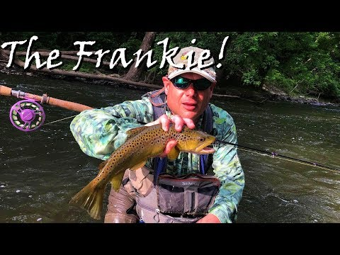WBD - Fly Fishing Euro Nymphing The Frankstown Branch Of The Juniata River