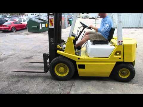 TCM 4,000# fork lift truck, Fort Myers Auction Company, RepoSell.com  4-5-16