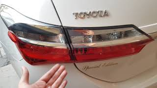2018 TOYOTA COROLLA GLI 1.3 **SPECIAL EDITION** !!Complete review/ walk around/ start up in PAKISTAN