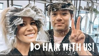 COME WITH ME TO GET MY HAIR DONE!