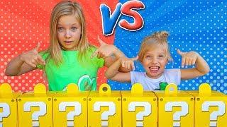 МАМА БРОСИЛА нам ВЫЗОВ  Дети сами открывают MYSTERY BOX