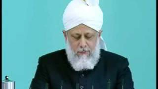 Friday Sermon: 25th September 2009 - Part 6 (Urdu)