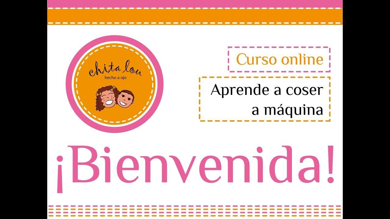 Aprende a coser a m quina curso online youtube for Curso de melamina gratis
