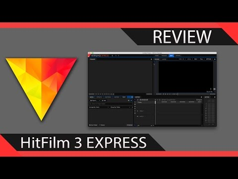 Miglior software di video editing GRATIS?! - HitFilm 3 Express