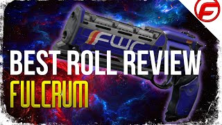 Destiny FULCRUM Best ROLL Legendary Hand Cannon FULCRUM REVIEW Reroll Guide