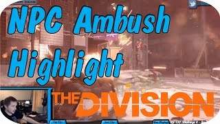 The Division: Survival Mode - Dark Zone NPC Ambush