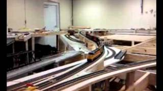 New Hill Going In On Waynesborough Model Railroad
