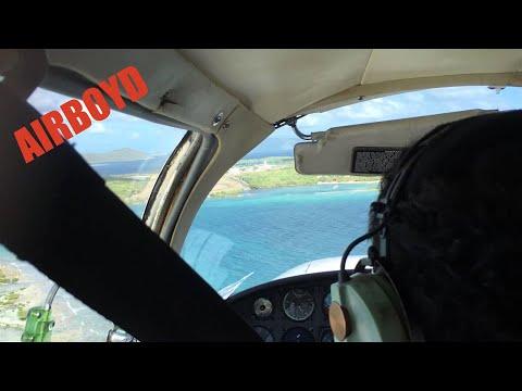 Beef Island Airport Landing
