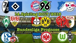 FIFA 18 Bundesliga Prognose 14.Spieltag 2017/2018 (u.a. FC Schalke 04 - 1.FC Köln)