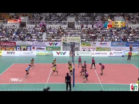 Tiến Nông Thanh Hóa Vs Malaysia - Giải Bóng Chuyền Nữ Quốc Tế Cup VTV Bình Điền 2015