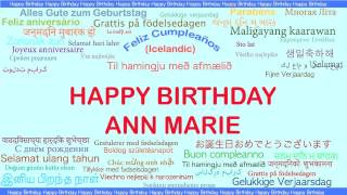 AnnMarie   Languages Idiomas - Happy Birthday