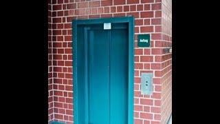 1993 KONE M-Series locked off elevator at Gymnasium of Lohmar, Germany