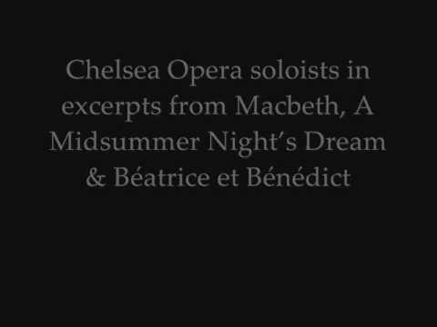 Chelsea Opera Presents Shakespeare in Opera