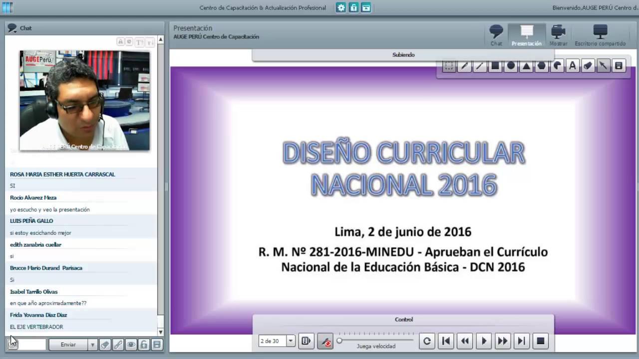 Sesi n 01 dise o curricular nacional youtube for Diseno curricular nacional 2016 pdf