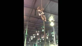 Rope climbing at JAG