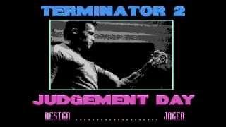 terminator 2 - judgement day demo for Atari 8-bit