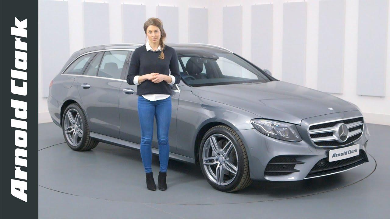 Mercedes B Class >> Mercedes-Benz E Class AMG Line Estate Walkaround - Arnold ...