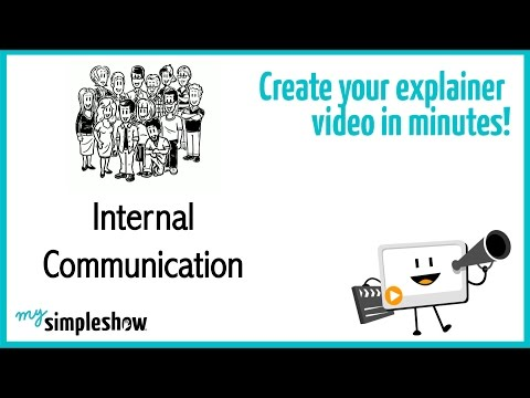 Great Tools For Internal Communications - Mysimpleshow