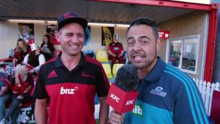 Epic Sideline Experience with the Crusaders