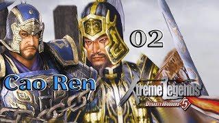 Dynasty Warriors 5 Cao Ren 02: Defense at Fan Castle Cao Ren is Benevolent?!