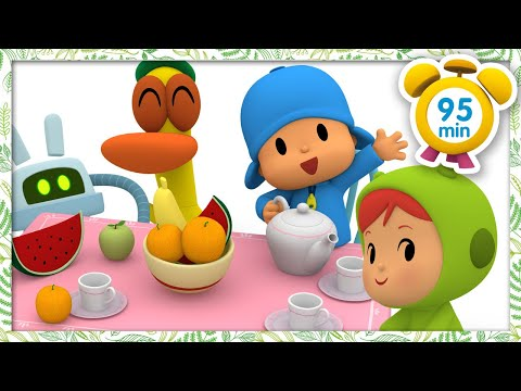 🍵 POCOYO in ENGLISH - Tea time [95 minutes]   Full Episodes   VIDEOS and CARTOONS for KIDS