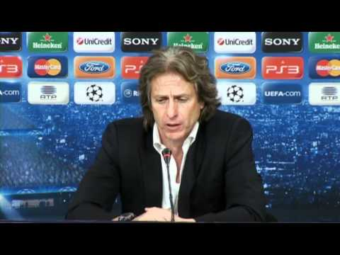 Benfica 0-1 Chelsea - home coach Jorge Jesus left frustrated by lack of goals