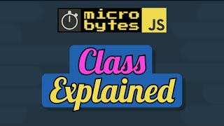 JavaScript Classes In 90 Seconds #JavaScriptJanuary