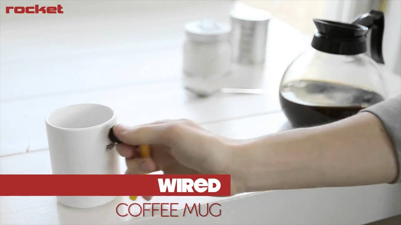 Rocket Design Wired Coffee Mug - YouTube