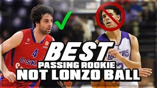 Oldest ROTY Ever! Better PASSER Than LONZO BALL & SIMMONS! Meet MILOS TEODOSIC 30 YEAR Old ROOKIE