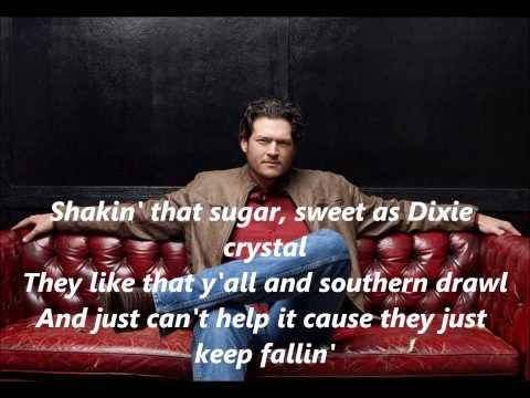 Blake Shelton Boys Round Here with Lyrics