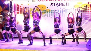 171209 Te Quiro cover K-pop - Intro & Just go & DR Feel Good @ The outdoor Plaza
