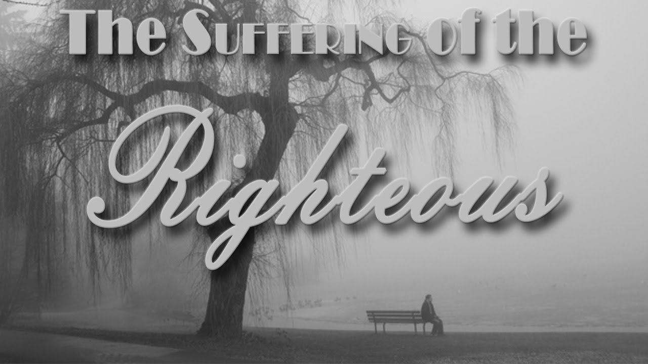 The suffering of the Righteous (with Eng subtitles) | Bro. Vincent Selvakumaar