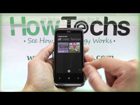 How to Add a Photo to a Contact on HTC 7 Pro