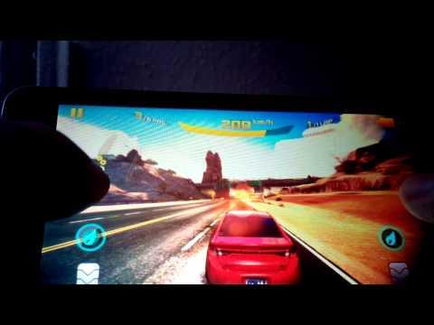 Vodafone smart 4 turbo running asphalt 8