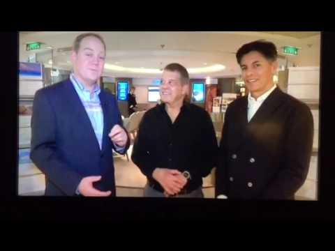 Joseph Aviv Onboard celebrity millennium in Asia