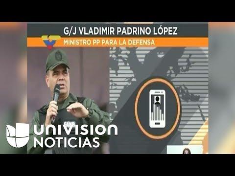 """Ministro de Defensa de Venezuela: Amenaza de Donald Trump """"es un acto de locura"""""""