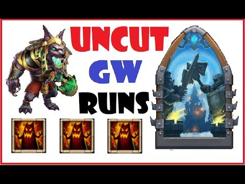 UNCUT Guild Wars Gameplay vs Strongest Bases Castle Clash 30.07.2017