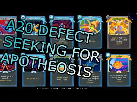 Seeking For Apotheosis! | Ascension 20 Defect Run | Slay The Spire