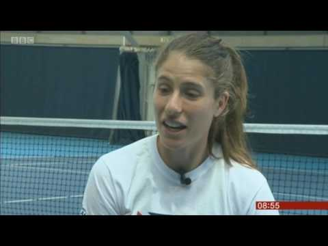 Jo Konta BBC Breakfast