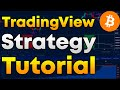 Cryptocurrency TradingView Strategy Tutorial - Bitcoin Trading Strategy