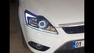 Ford Focus Bixenon Kayar sinyal ve Led Uygulaması
