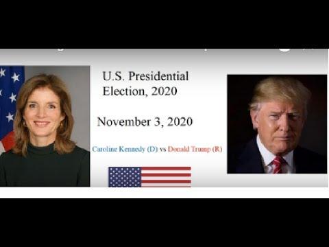 Election Night 2020: President Trump vs Caroline Kennedy