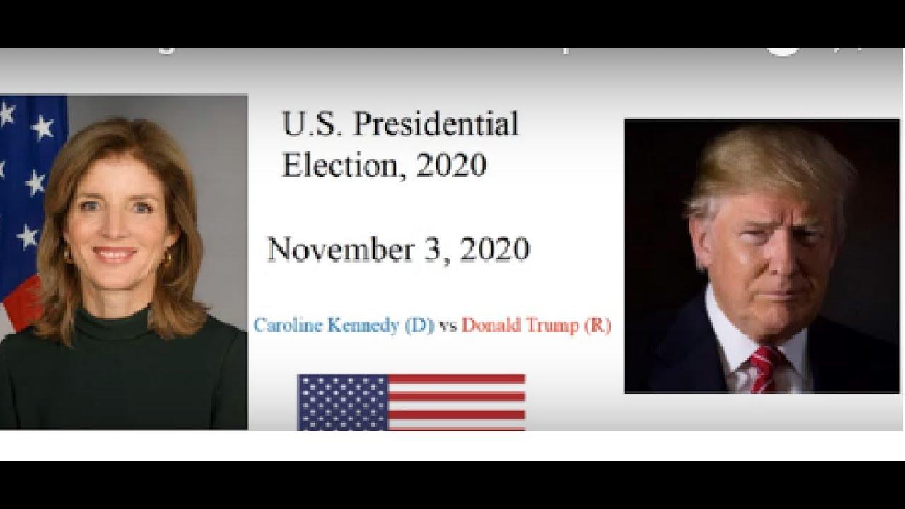 Election Night 2020 President Trump Vs Caroline Kennedy Youtube