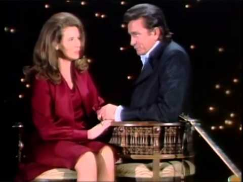 Johnny Cash June Carter Cash Cause I Love You Live The Johnny