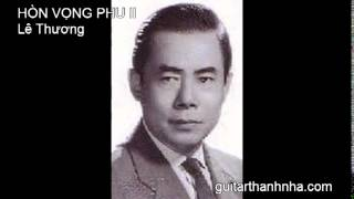 HÒN VỌNG PHU II - Guitar Solo