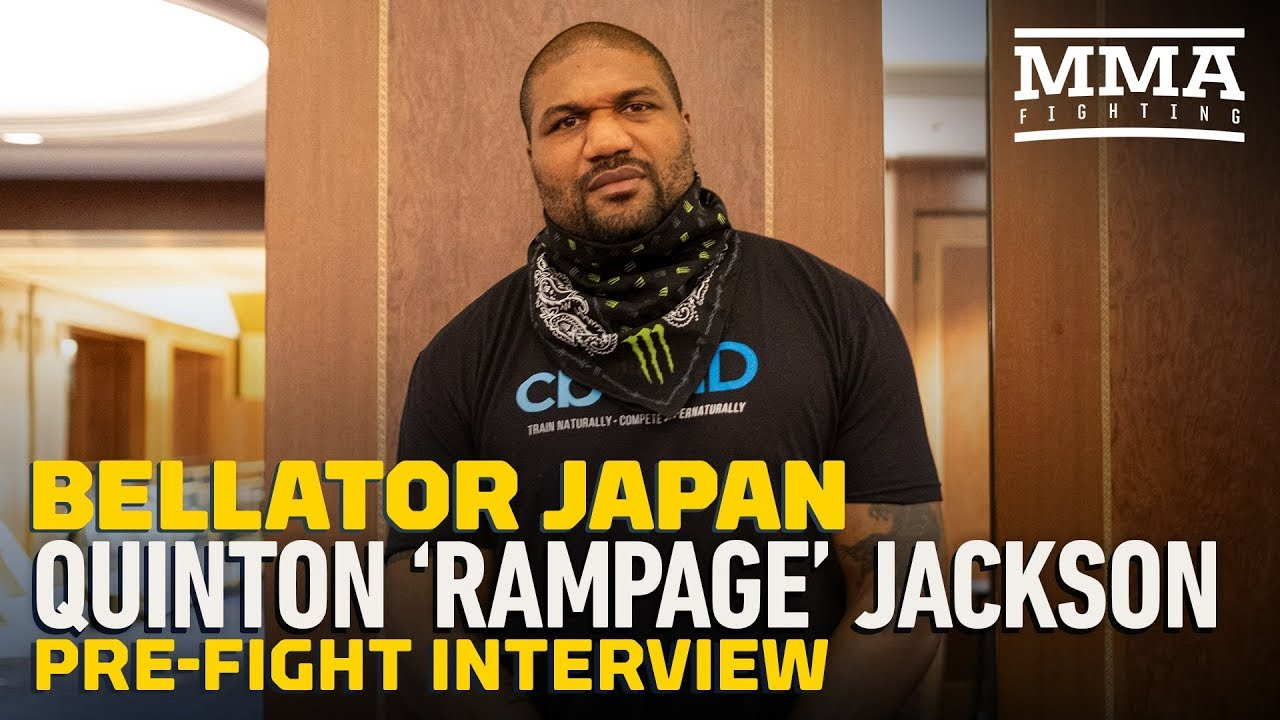 Bellator Japan Rampage Jackson Goes Off On Japan Ex Managers