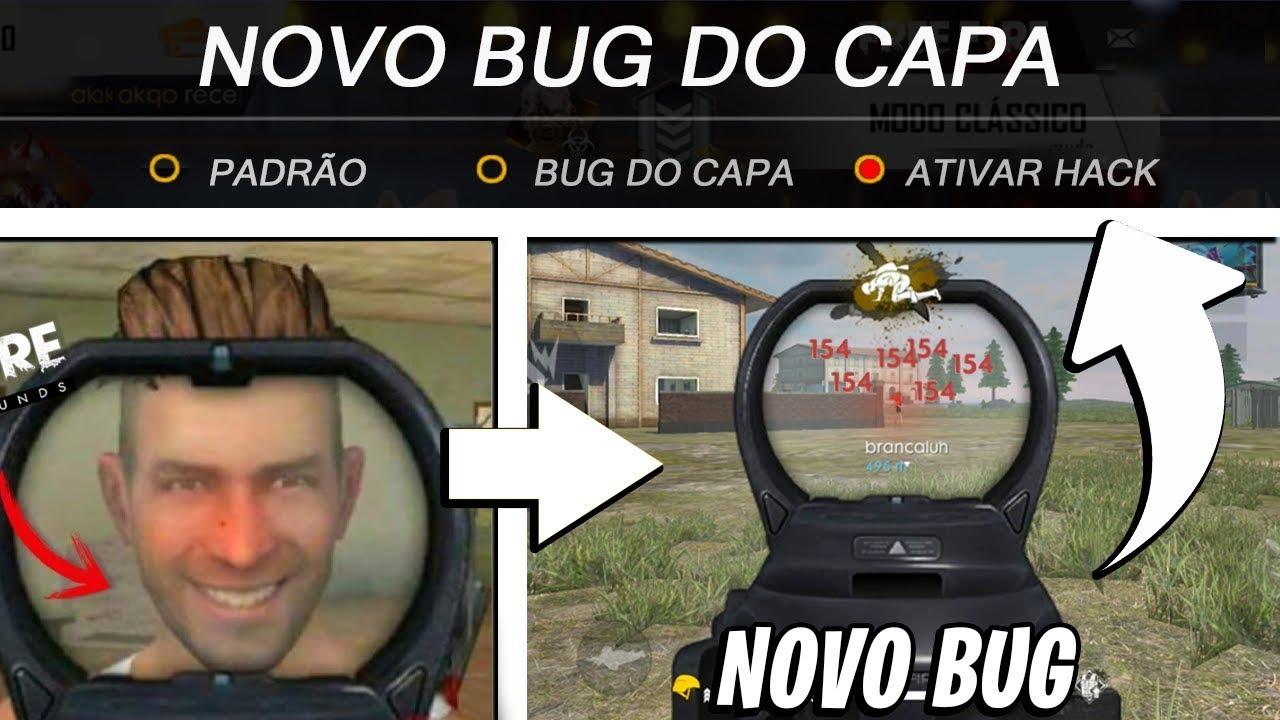 BUG DO CAPA VOLTOU! NOVO BUG TÁ NÍVEL HACK!! FREE FIRE