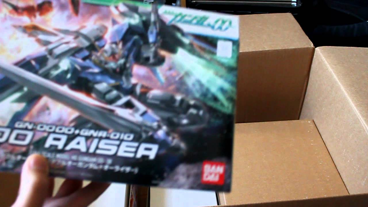 gundam store and more 2nd unboxing youtube